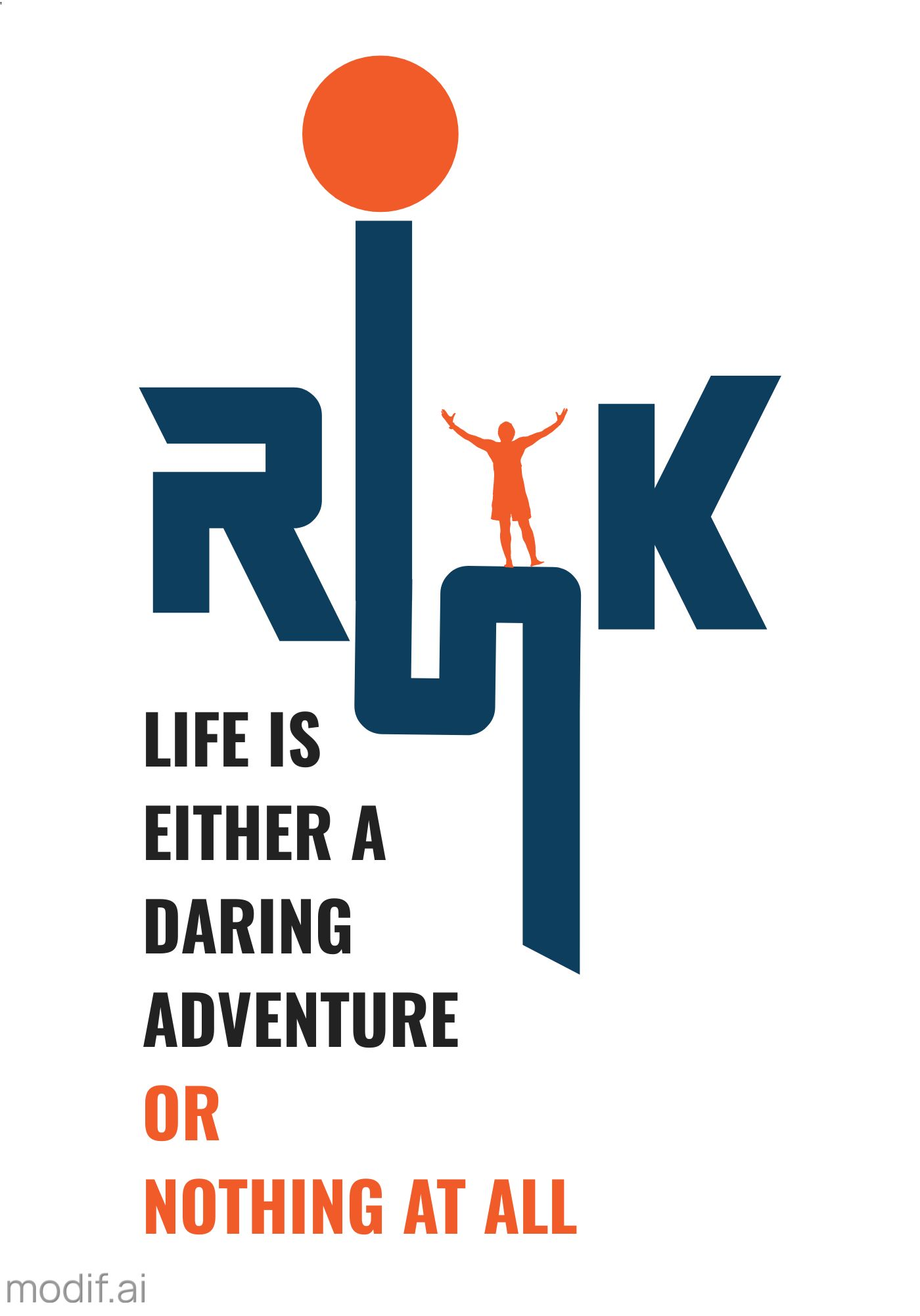 Motivational Poster Design Template
