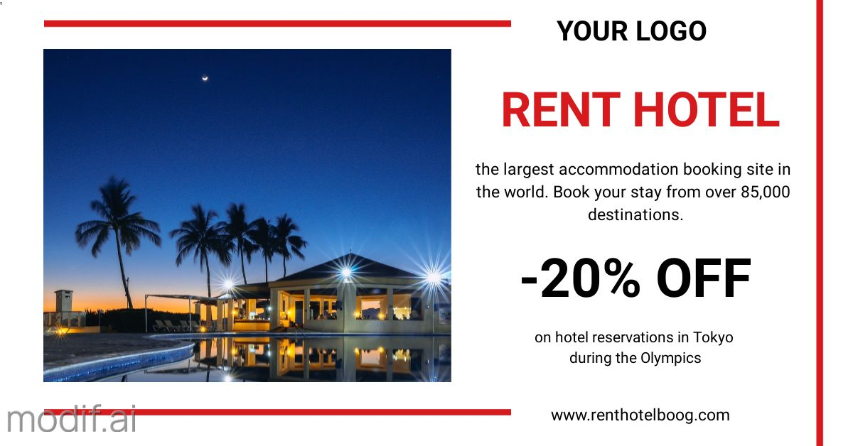 Hotel Rent LinkedIn Post