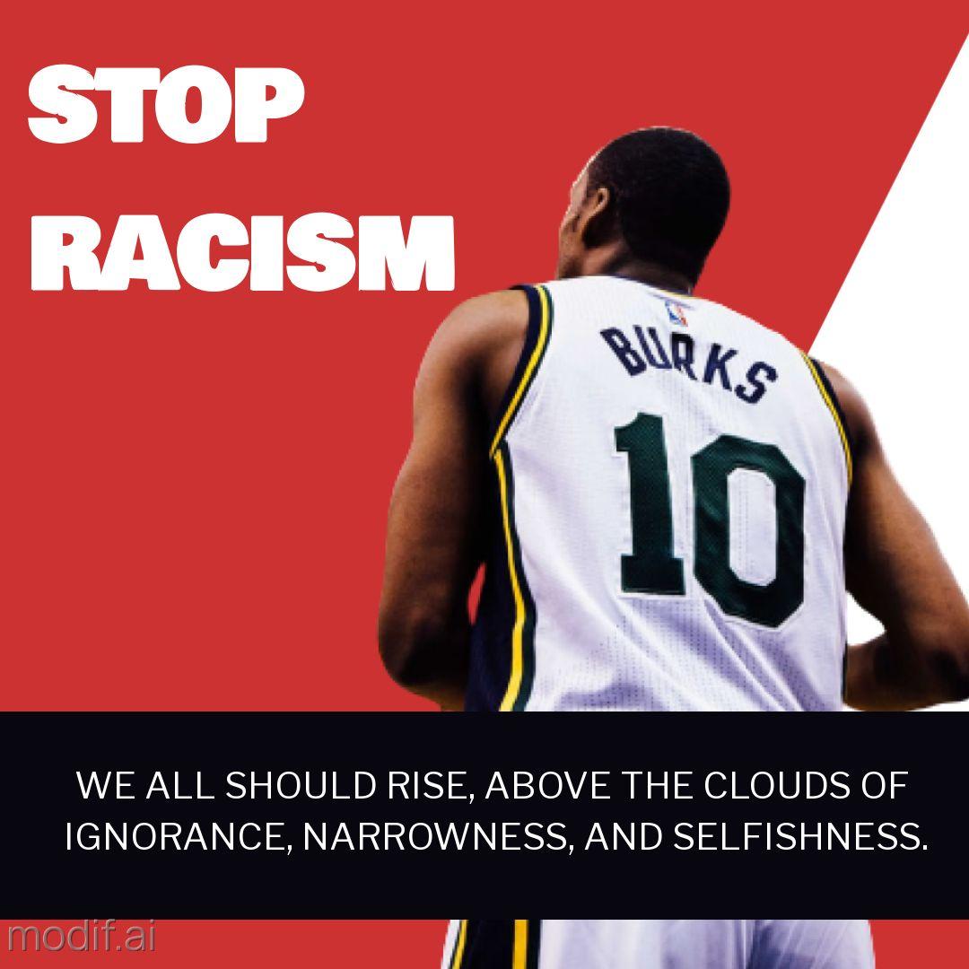 Stop Racism Instagram Post Template