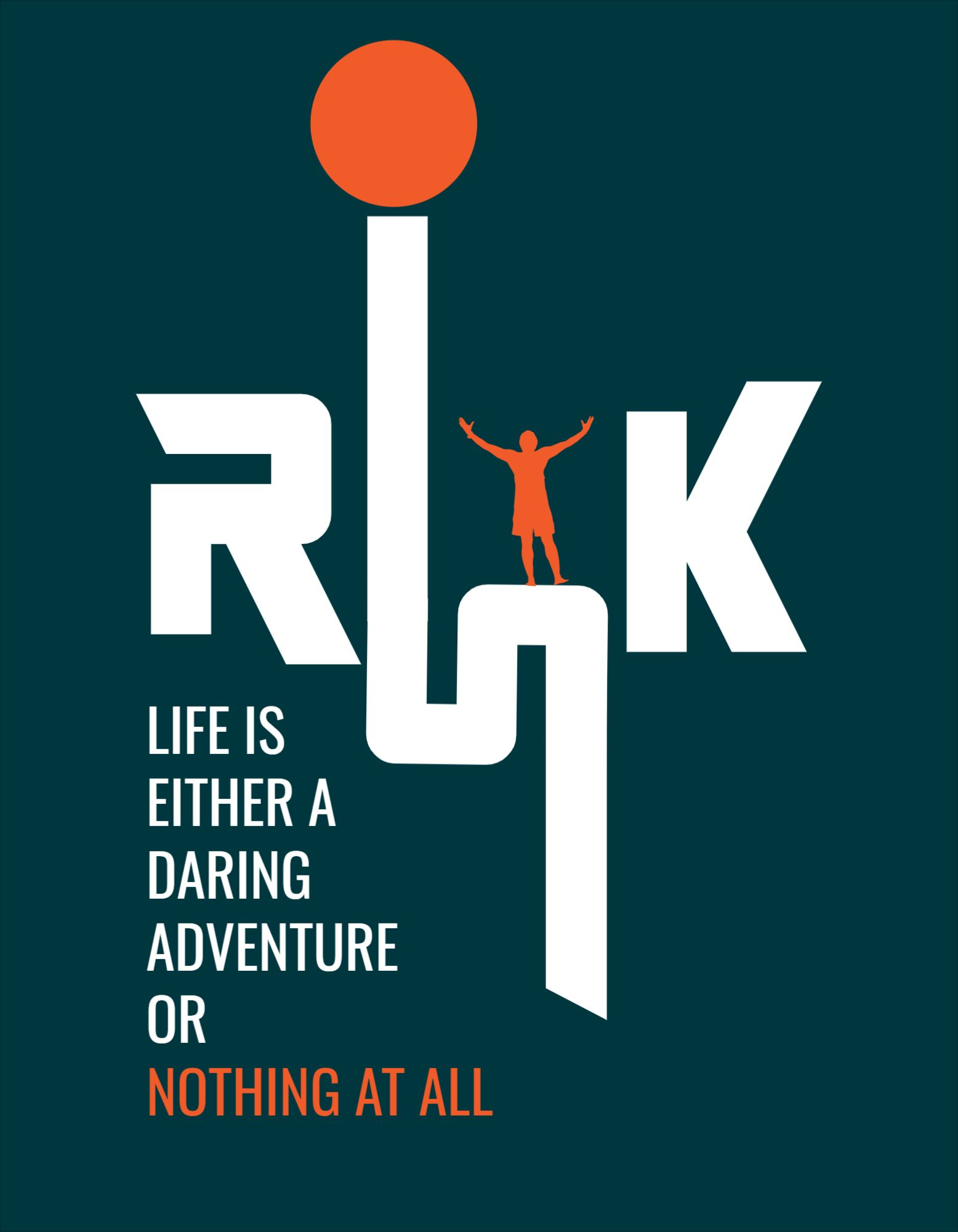 Risk and Motivation T-Shirt Design Template