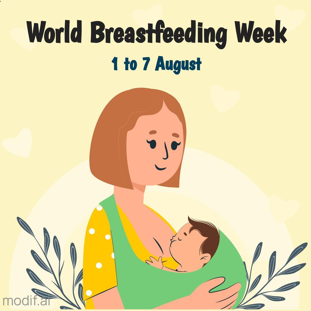 Instagram Post Template World Breastfeeding Week