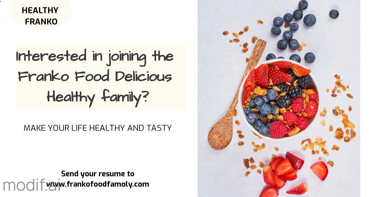 LinkedIn Post Healthy Food Template