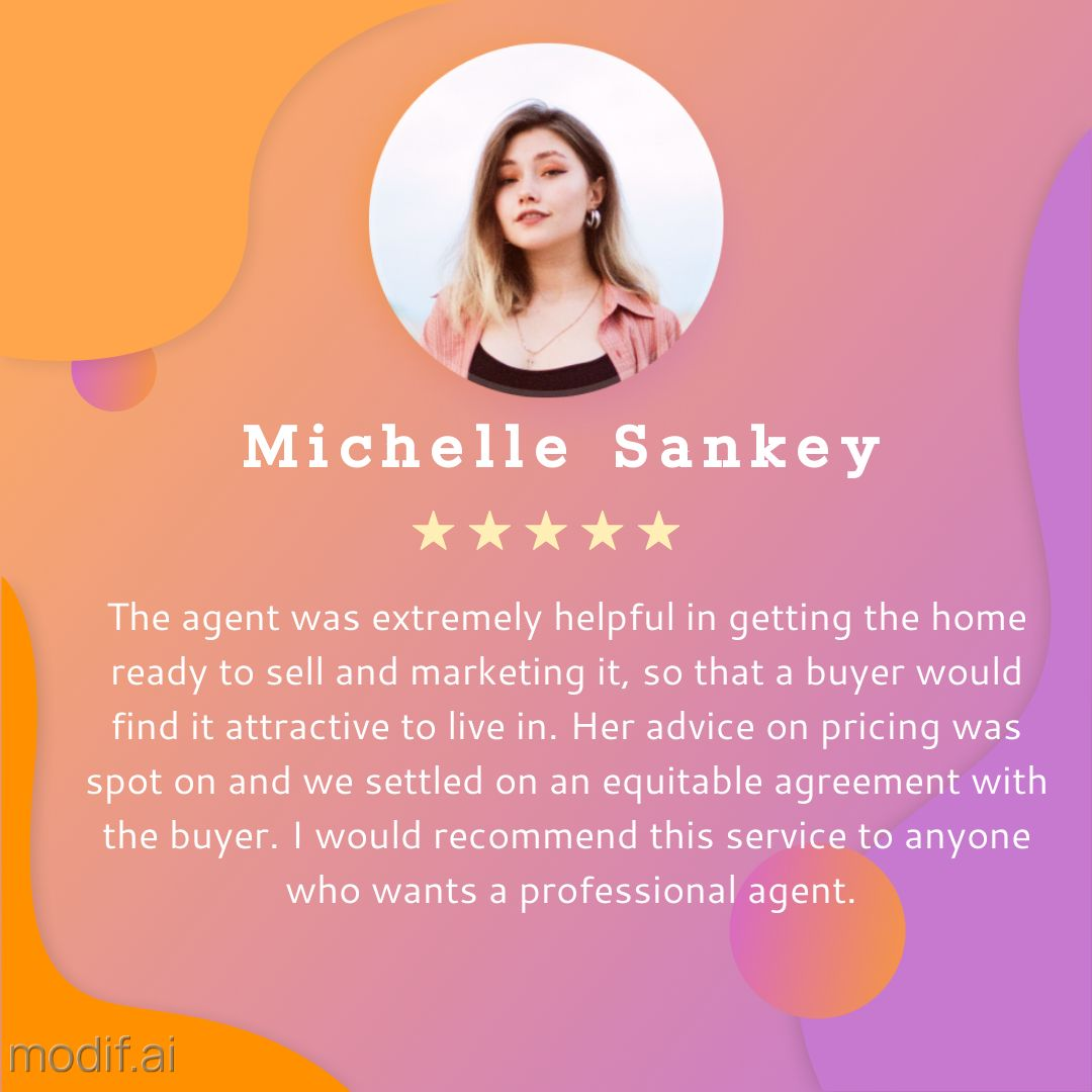 Real Estate Agent Testimonial Template