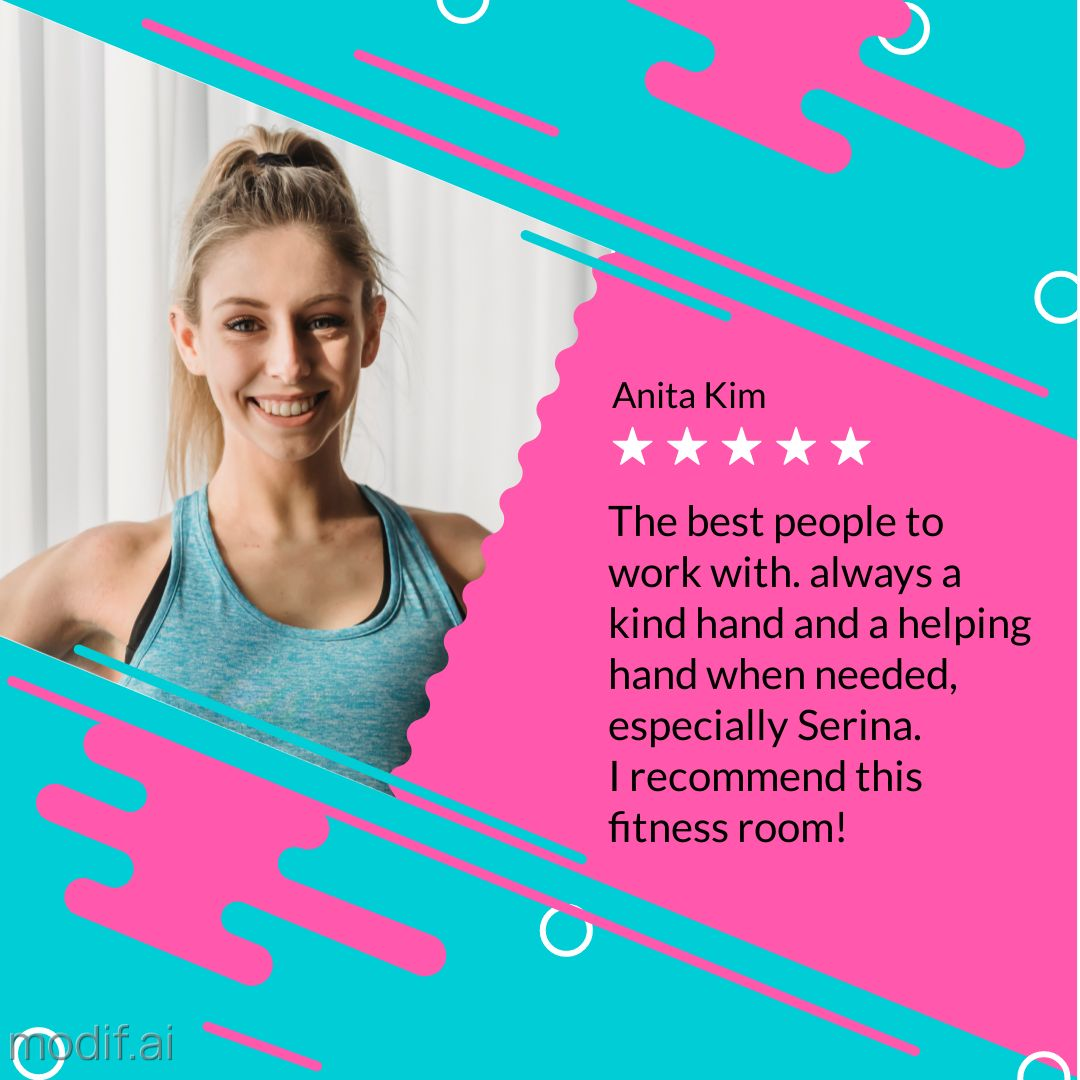Fitness Room Review Template
