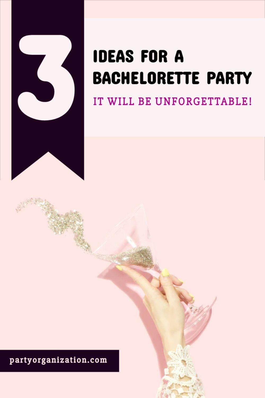 Pinterest Pin Bachelorette Party Ideas Template
