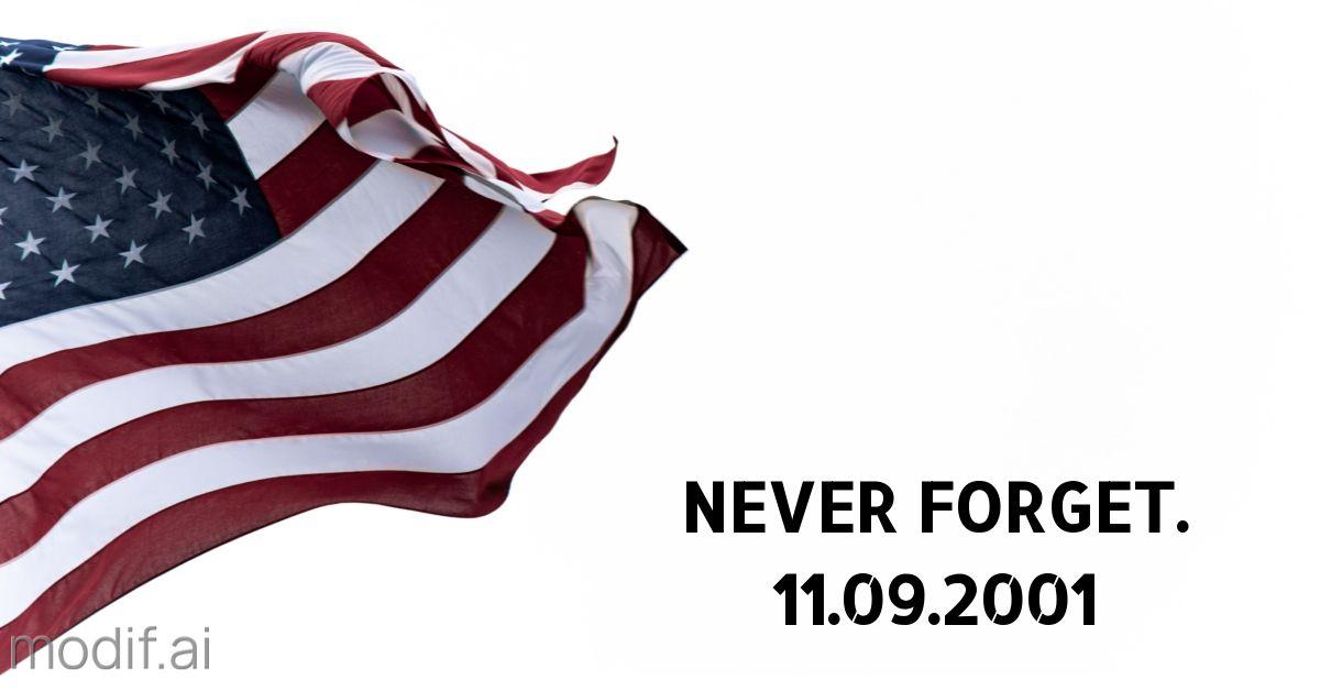 September 11 911 Remembrance LinkedIn Post Template