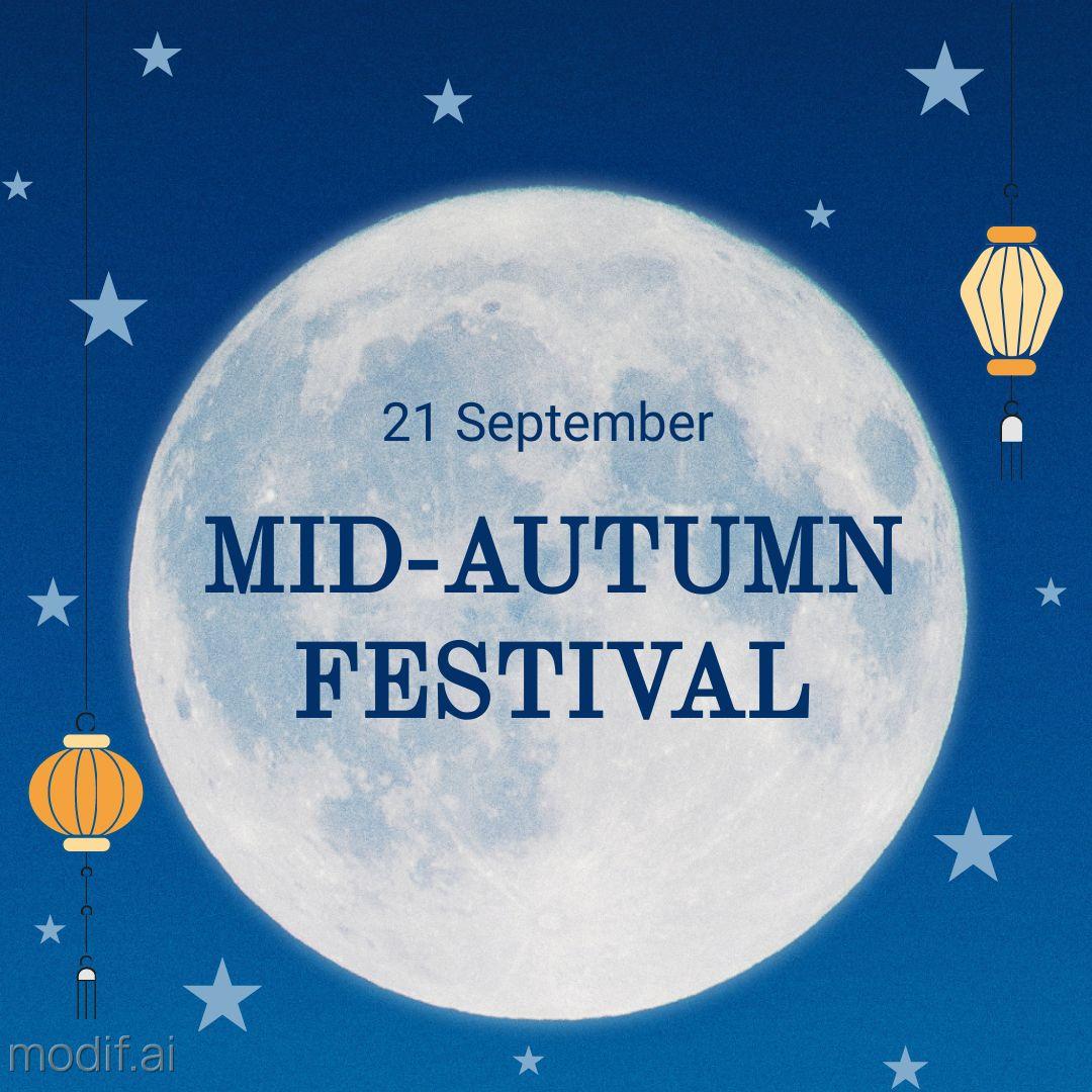 Mid-Autumn Festival Instagram Post Template