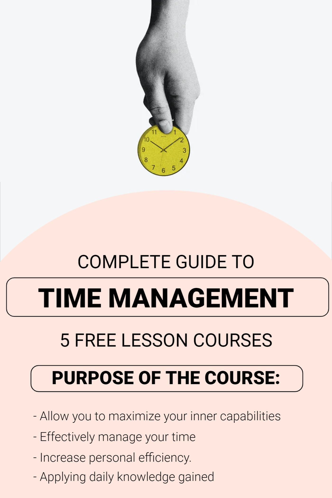 Time Management Course Template
