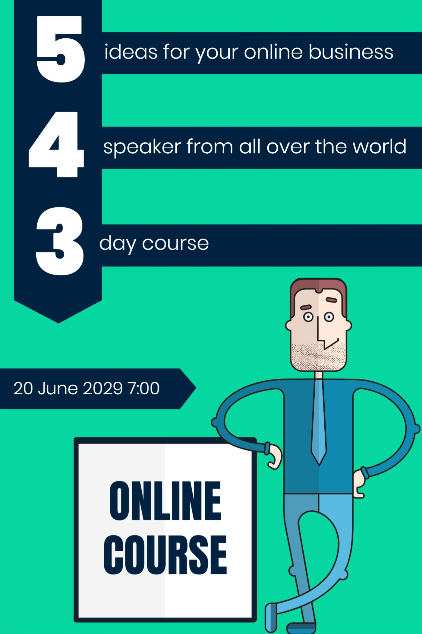 Online Business Course Template