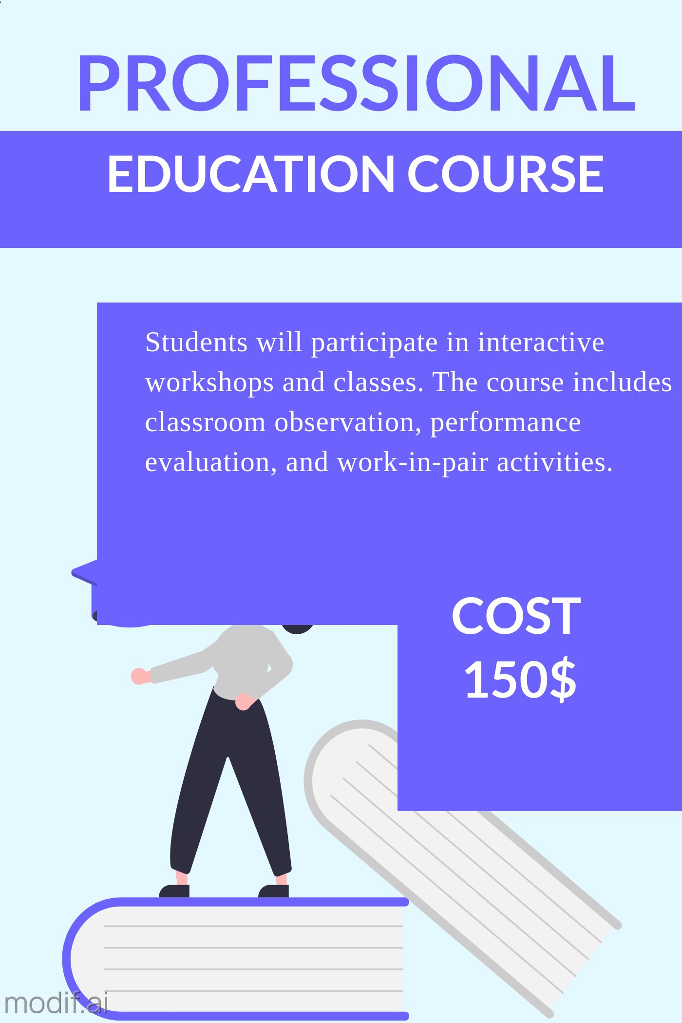 Professional Education Course Template