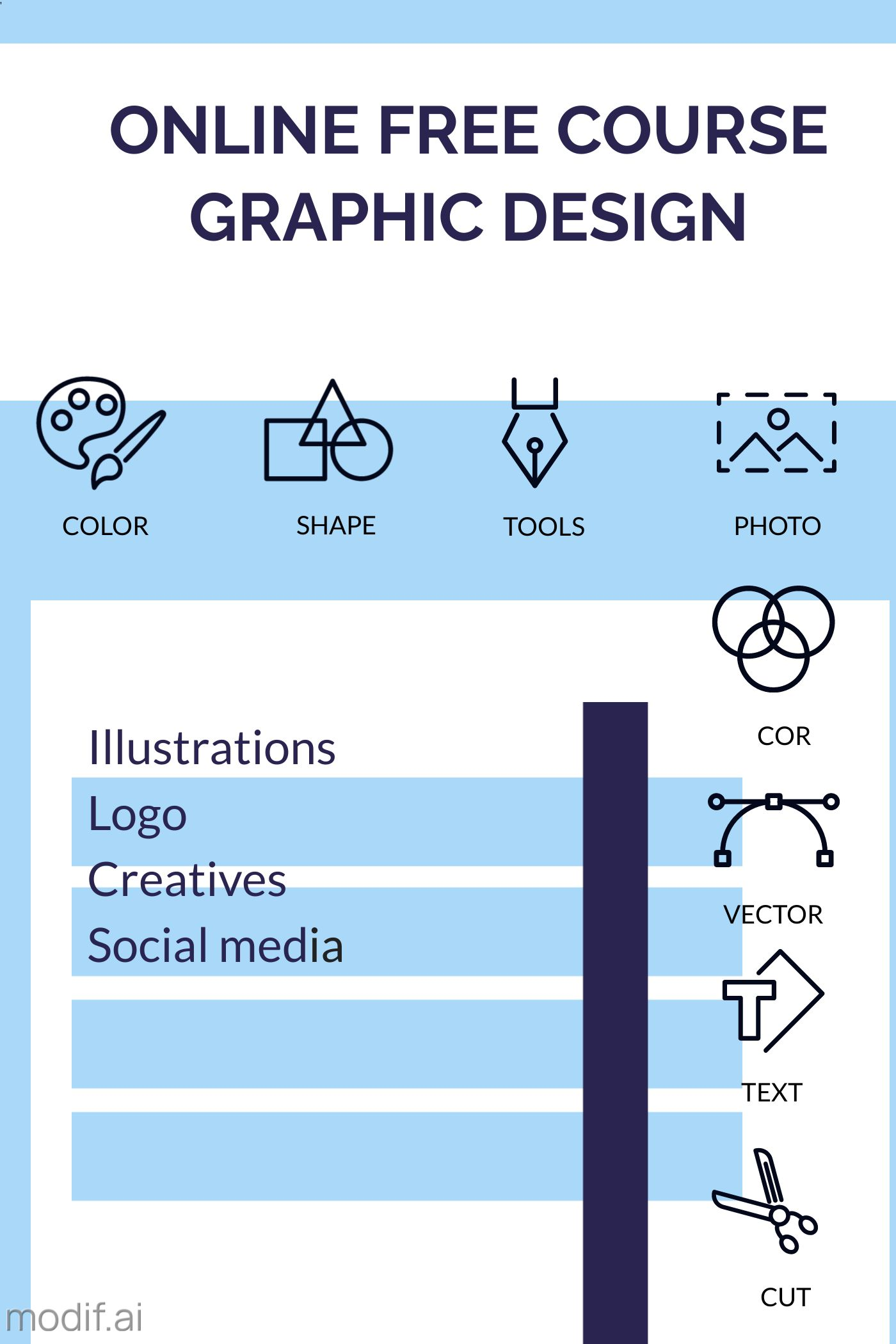 Online Graphic Design Course Template
