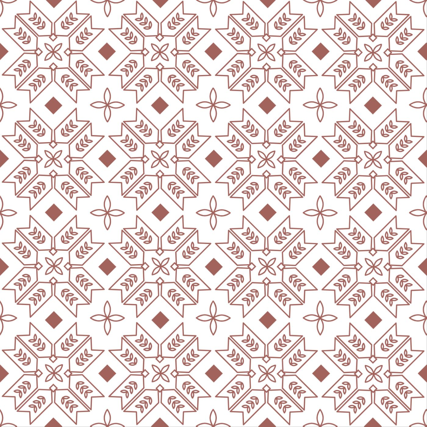 Complex Pattern Pillow Design Template