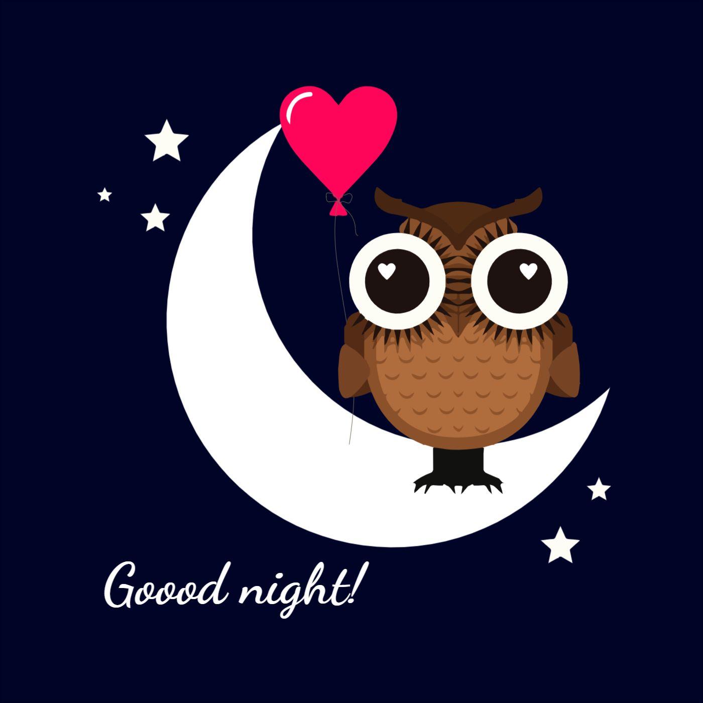 Pillow Owl Design Template
