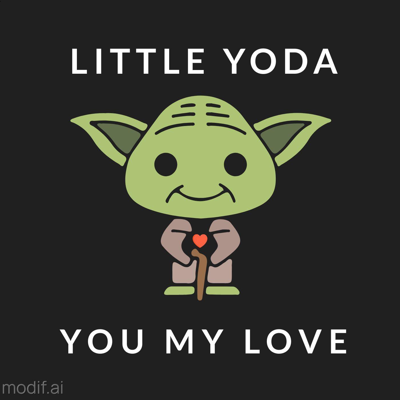 Pillow Little Yoda Template