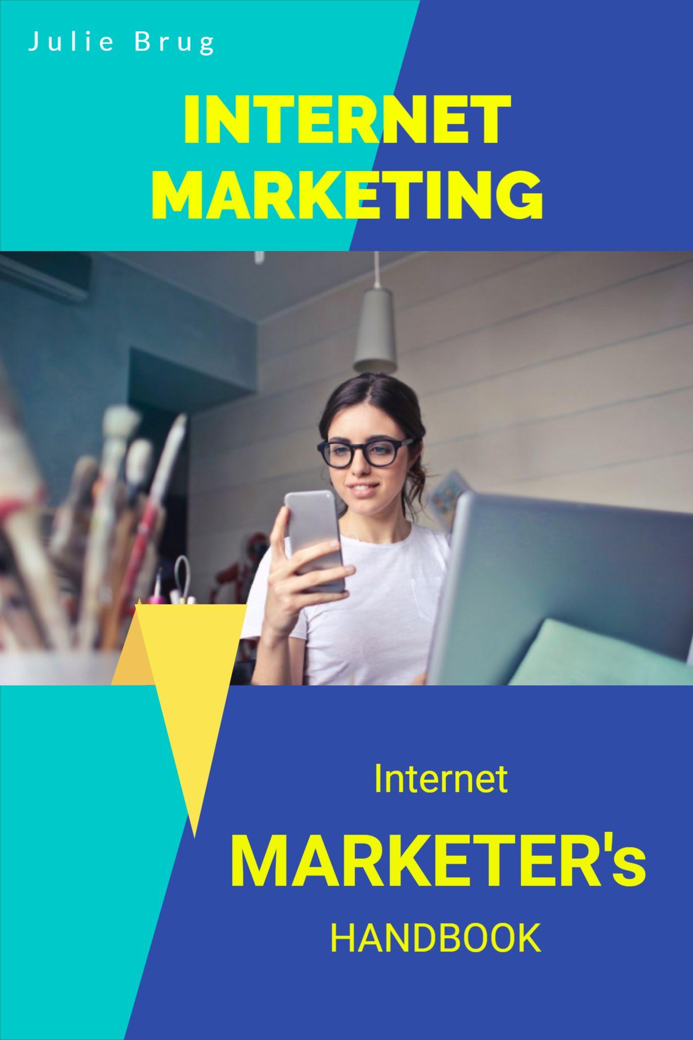 Internet Marketing Book Cover Template