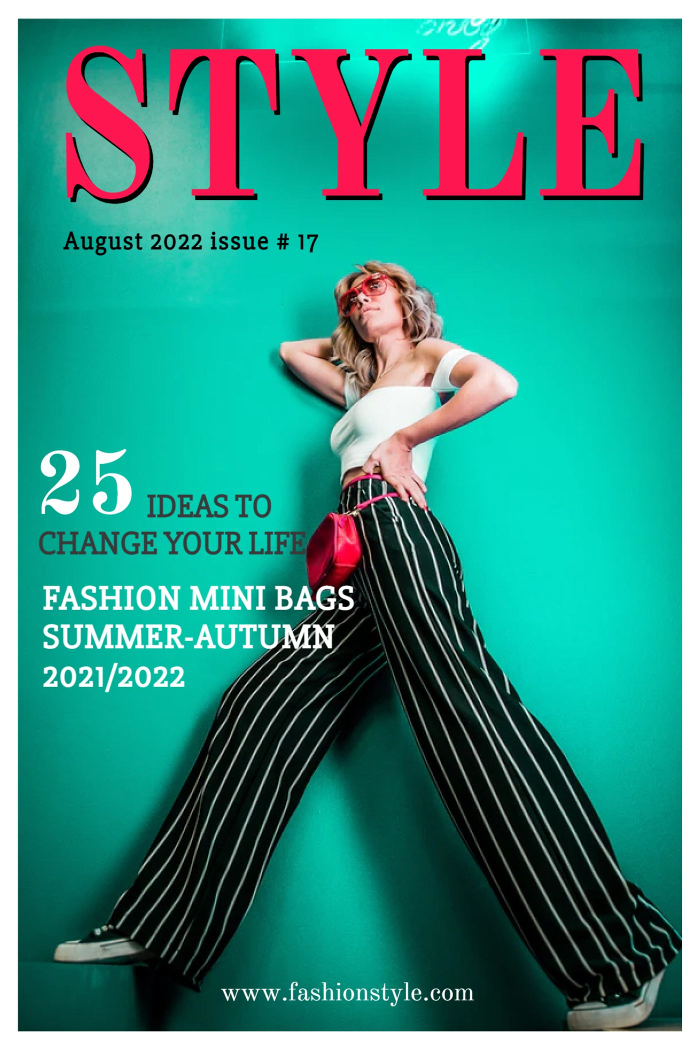 Magazine Cover Fashion  Style Template