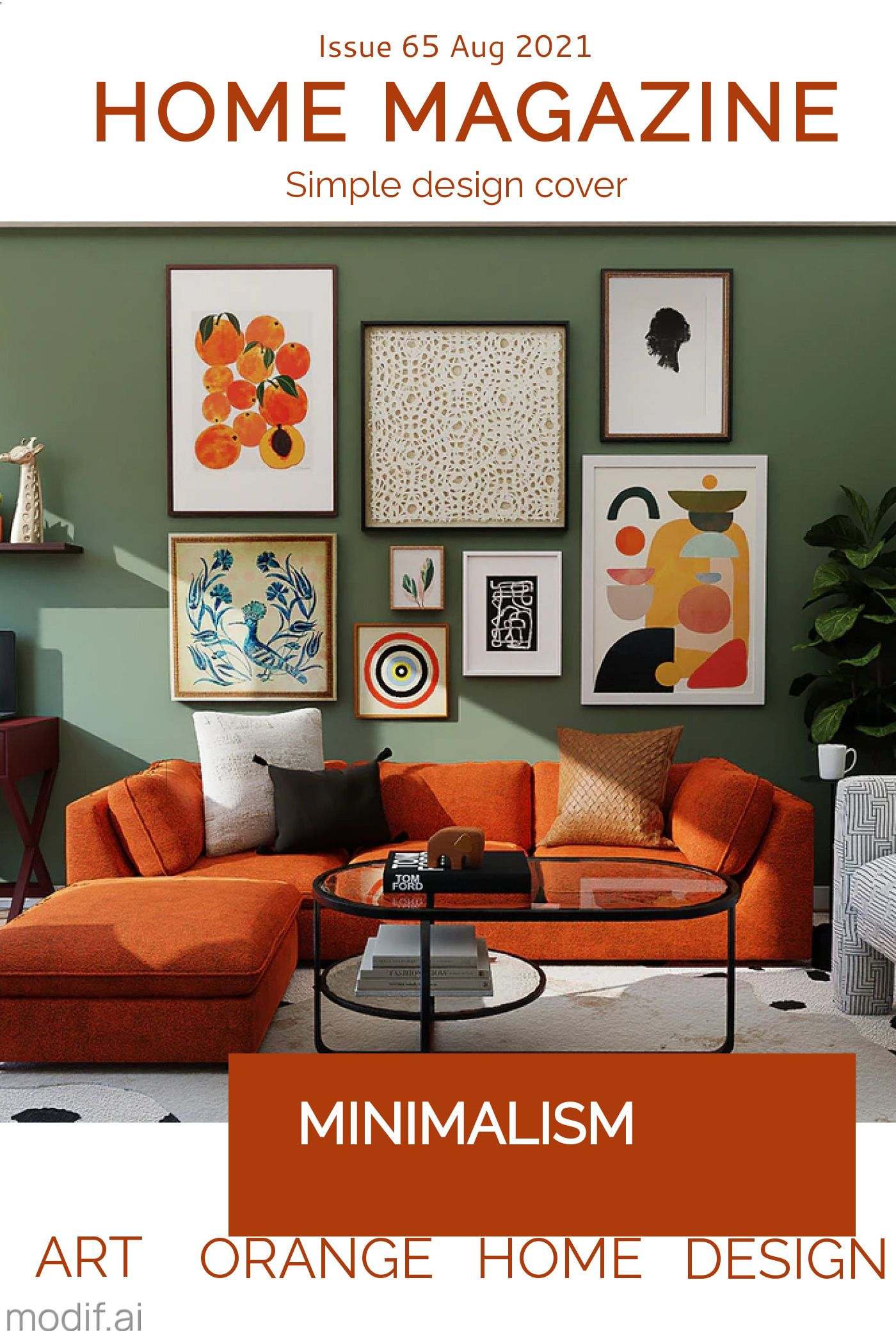 Home Magazine Template Design