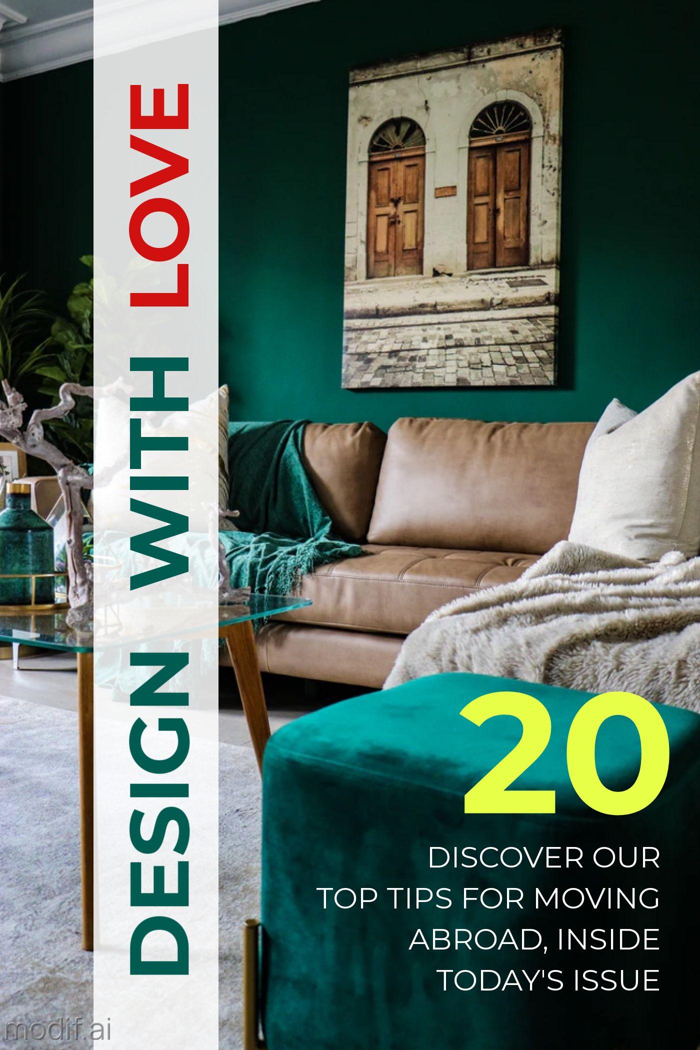 Home Magazine Cover Template Design