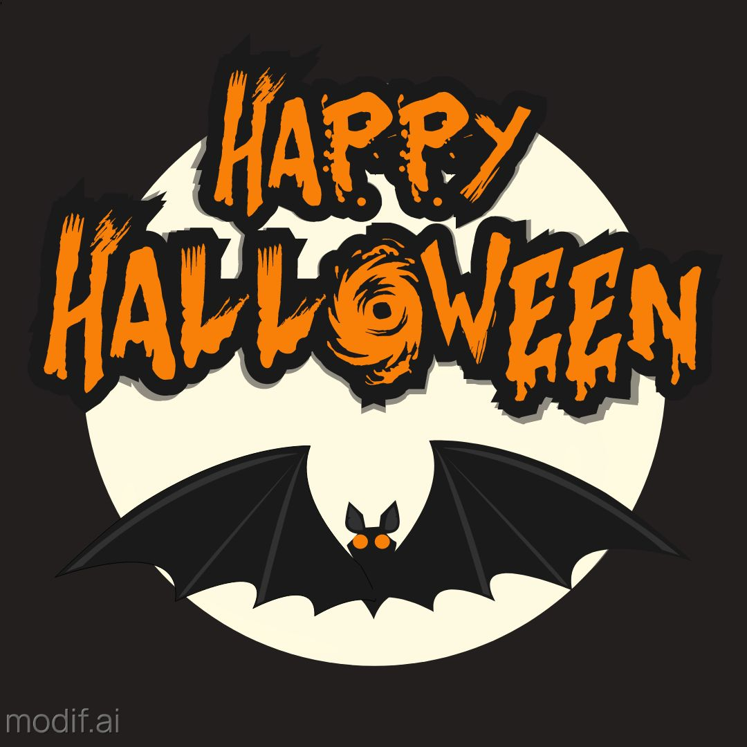 Happy Halloween Wishes Template