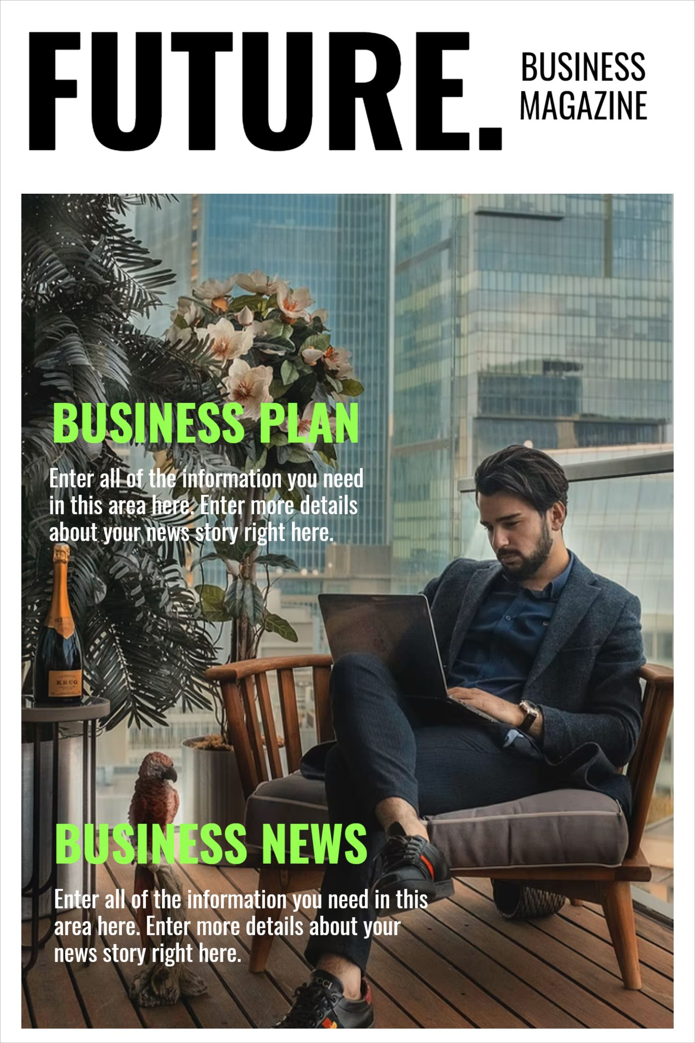 Future Business Magazine Template