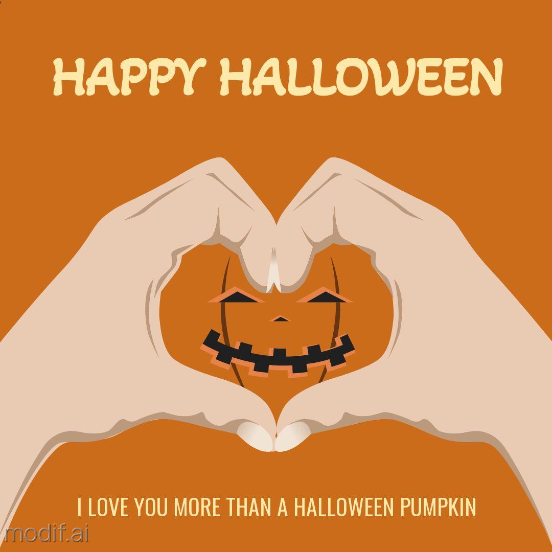 Pumpkin Halloween Design