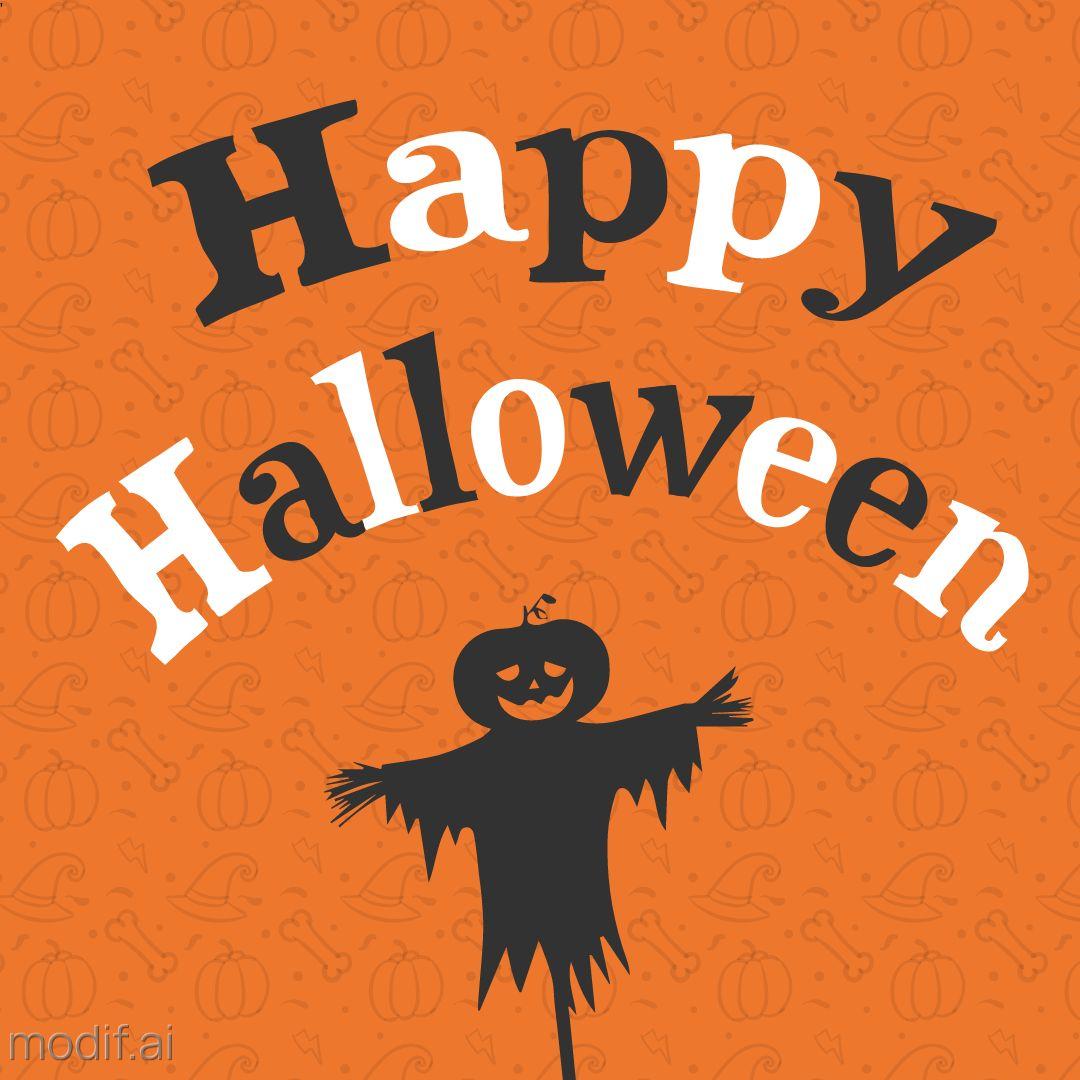 Happy Halloween Card Design