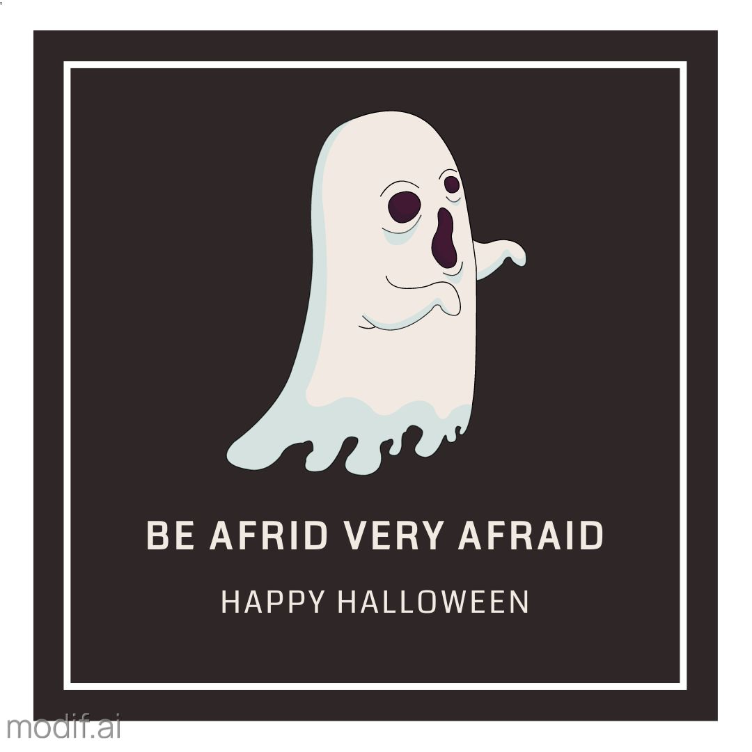 Ghost Halloween Design Template