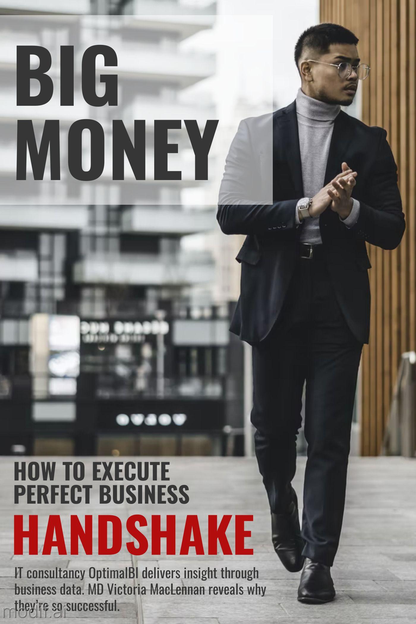 Big Money Magazine Cover Design