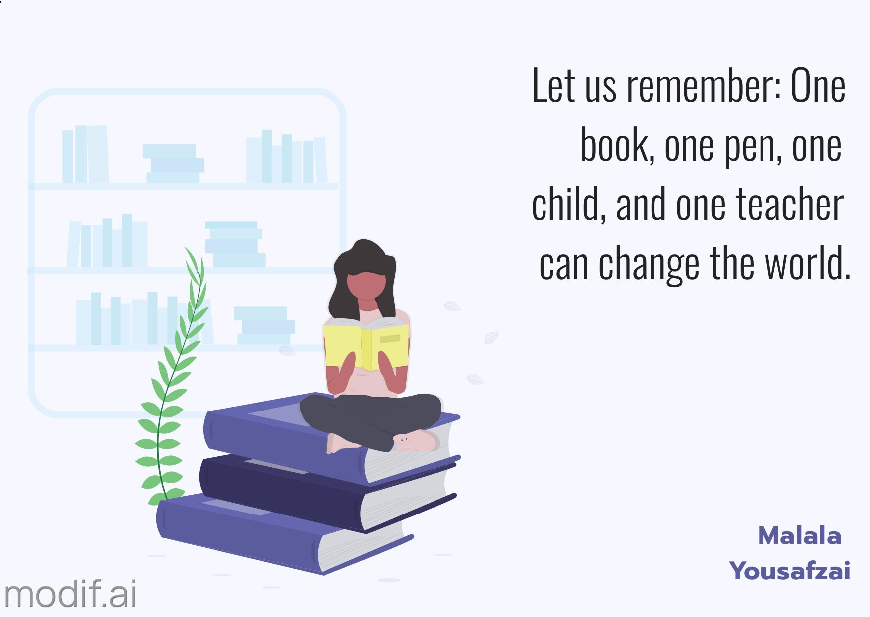 World Teachers Day Facebook Post Quote Template