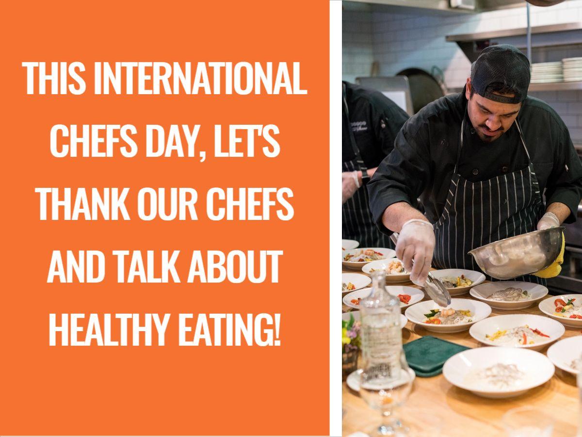 International Chefs Day  Facebook Post Template
